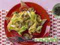 Pilz-Omelett mit Tomaten Rezept