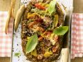 Pizza-Hackbraten mit Gemüse Rezept