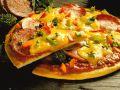 Pizza mit Salami Rezept