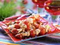 Puten-Tomaten-Spieße vom Grill Rezept