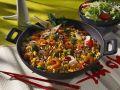 Reis-Gemüse-Pfanne mit Scampi Rezept