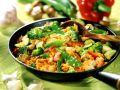 Reis-Gemüsepfanne Rezept