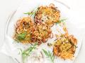 Kartoffel-Zucchini-Rösti mit veganem Meerrettich Dip Rezept