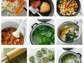 Rind und Basilikumpasta herstellen Rezept