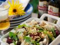 Rote Bete Salat mit Käse Rezept