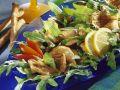 Rucolasalat mit Austernpilzen Rezept