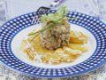 Saibling-Tatar mit Bratkartoffeln Rezept