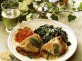 Saltimbocca mit Spinat Rezept