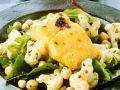 Schellfisch auf Spinat und Blumenkohl Rezept