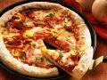 Schinken-Pizza mit Paprika Rezept