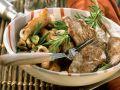 Schnelle Kalbssteaks mit Rosmarinkartoffeln Rezept