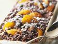 Schoko-Crumble mit Aprikosen Rezept