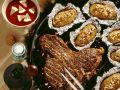 Steak mit Barbecuesauce und Kartoffeln Rezept