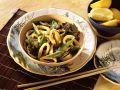 Tintenfisch mit Shiitake aus dem Wok Rezept