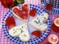 Toast-Herzen Rezept