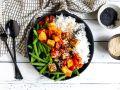 Tomaten-Tofu mit Bohnen Rezept