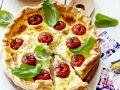 Tomatenquiche mit Basilikum Rezept