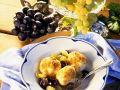 Topfenknödel mit Trauben Rezept