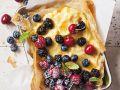 Vanillecreme-Tarte mit Beeren Rezept