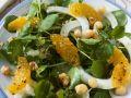Wasserkressesalat mit Orangen-Dressing Rezept