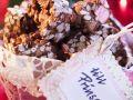 Weihnachtssüßigkeiten mit Puffreis Rezept