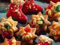Weinhnachtssterne und -stiefel Rezept