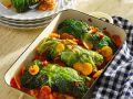 Wirsingrollen mit Kürbis und Süßkartoffel Rezept