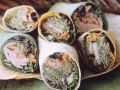 Wraps mit Gemüse-Schinkenfüllung Rezept