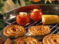 Würstchen mit Gemüse vom Grill Rezept