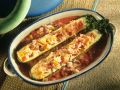 Zucchini mit Reis-Fischfüllung Rezept