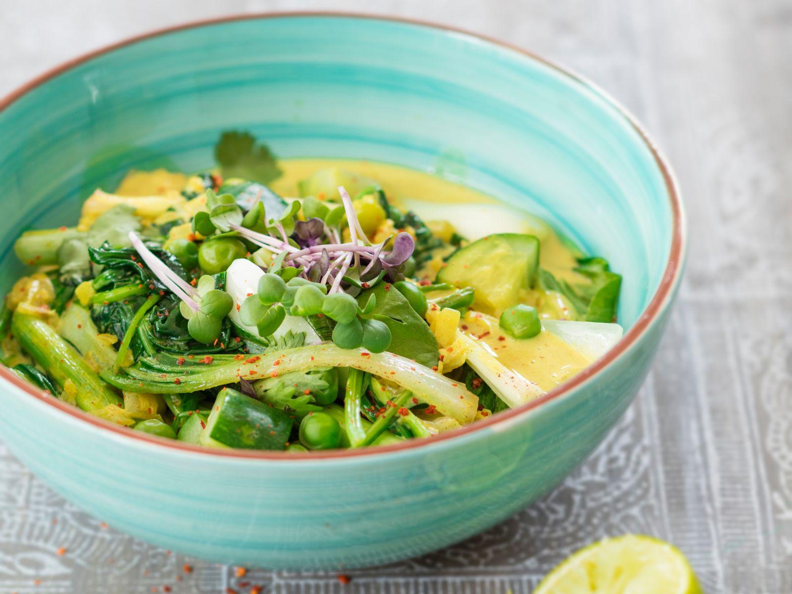 7fdfdb0adfc2 Grünes Gemüse-Curry