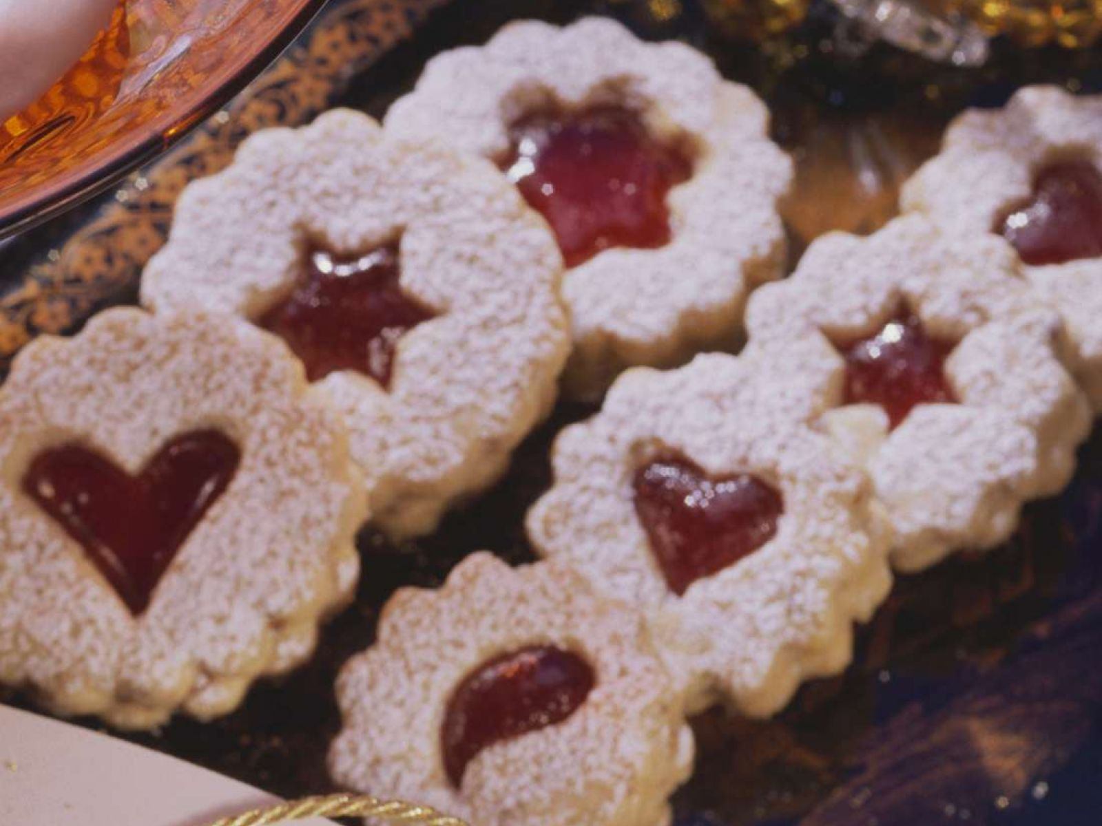 Weihnachtsplätzchen Kindergarten.Weihnachtsplätzchen Mit Marmelade