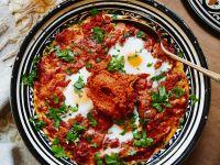 Afrikanische Tomaten-Ei-Pfanne Rezept