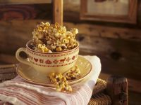 Ahornsirup-Popcorn Rezept