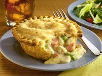 Amerikanischer Hühnchen-Gemüse-Kuchen Rezept
