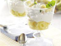 Ananas-Bananen-Becher Rezept