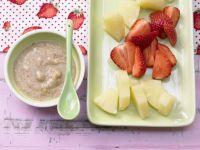 Ananas-Erdbeer-Teller mit Nuss-Dip Rezept