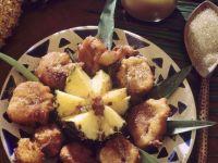 Ananas im Ausbackteig Rezept
