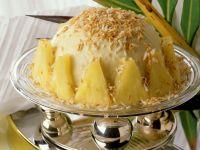 Ananas-Kokos-Eisbombe Rezept