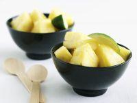 Ananas-Limetten-Salat Rezept