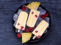 Ananas-Popsicles Rezept