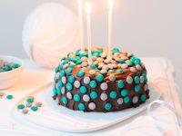 """""""Angel Cake"""" mit Schokolade und Schokolinsen Rezept"""