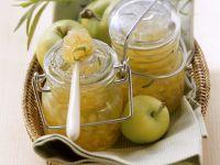 Apfel-Birnen-Marmelade mit Estragon Rezept