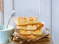 Apfel-Blechkuchen mit Streuseln Rezept