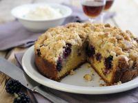 Apfel-Brombeer-Kuchen mit Streuseln Rezept