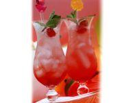 Apfel-Drink mit Maracuja und Mango Rezept