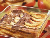 Apfel-Honigkuchenauflauf Rezept