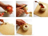 Apfel im Teigmantel gebacken Rezept