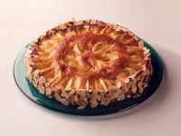 Apfel-Marzipankuchen mit Pfirsichen Rezept