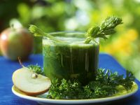 Apfel-Petersiliensaft Rezept